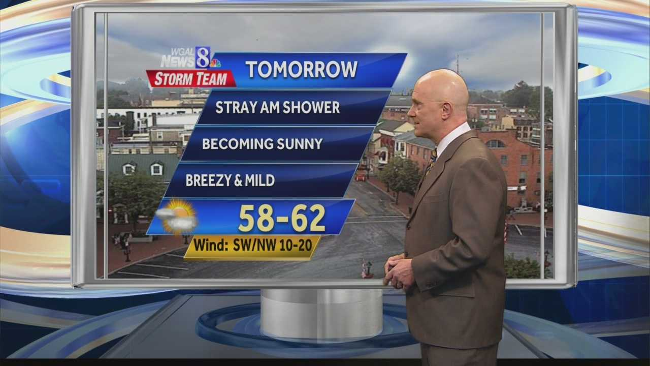 News 8 at 5:00 weather 3.21.14