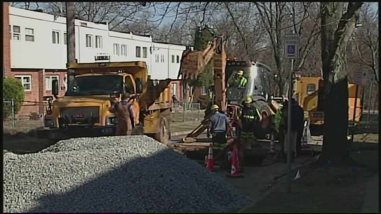 News 8 Today sinkhole repairs