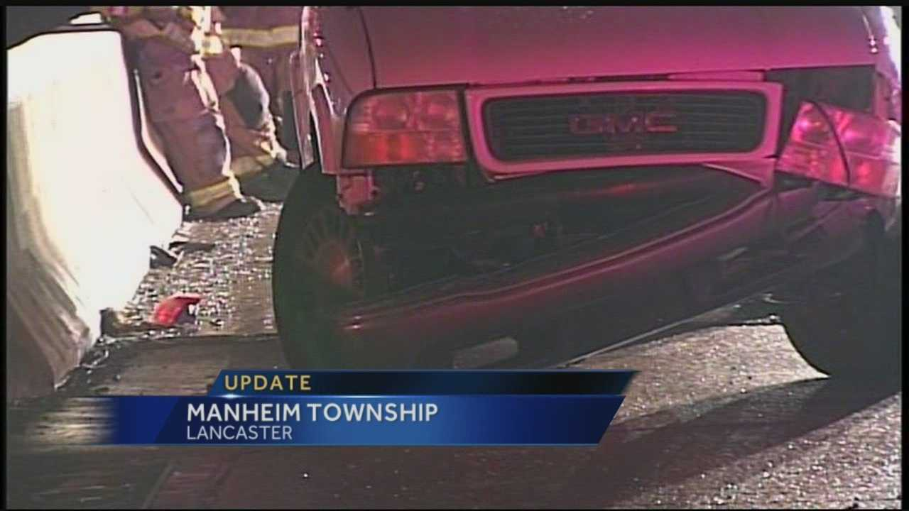 The crashes happened on Route 30 near the Harrisburg Pike Exit in Lancaster County.