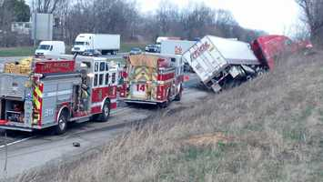 The crash happened around 1:30 p.m. near mile marker 47.