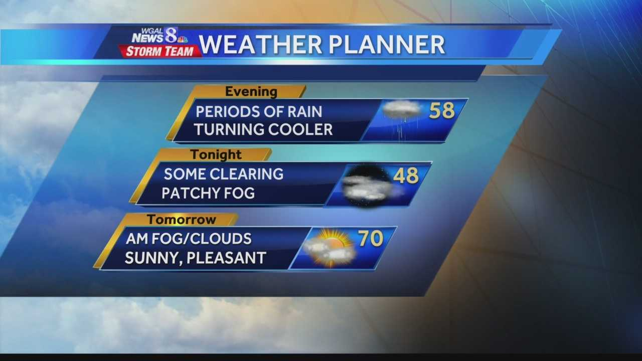 News 8 at 5 Weather 4.11.14
