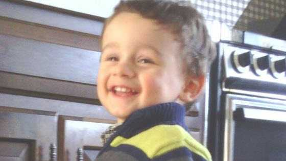 Photo of Aedan Michael Mauger from www.missingkids.com.