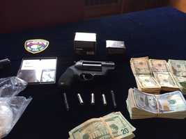 Police and ATF broke up a heroin operation in York. Officials recovered raw heroin, packaged heroin, cocaine, marijuana and guns.
