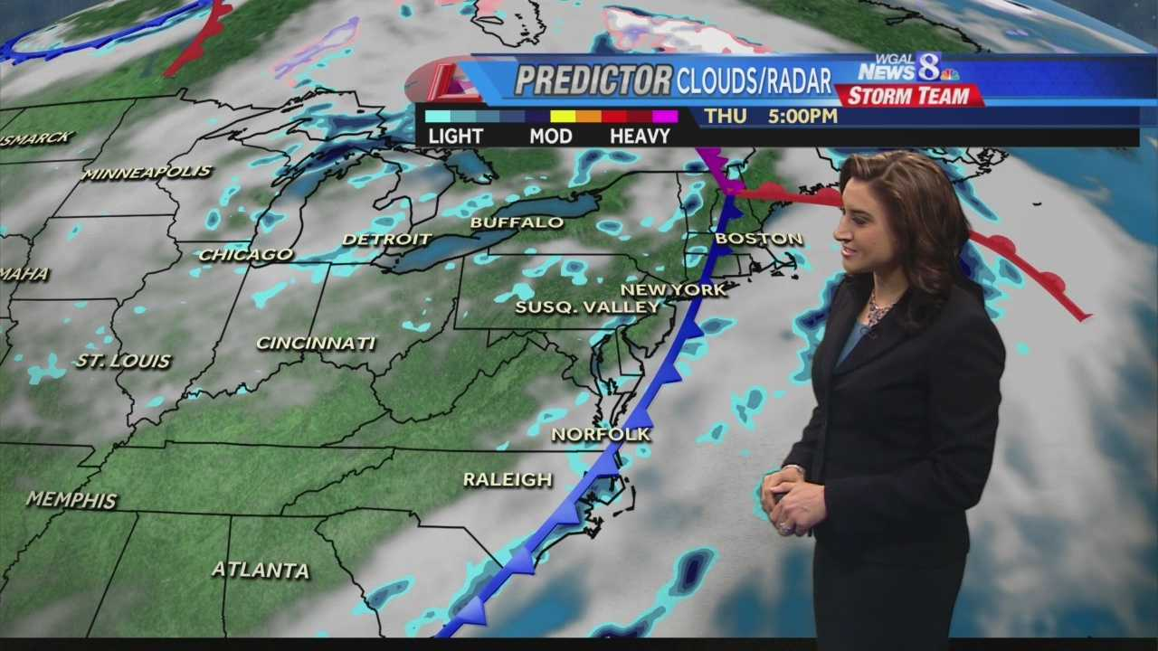 Showers possible this afternoon