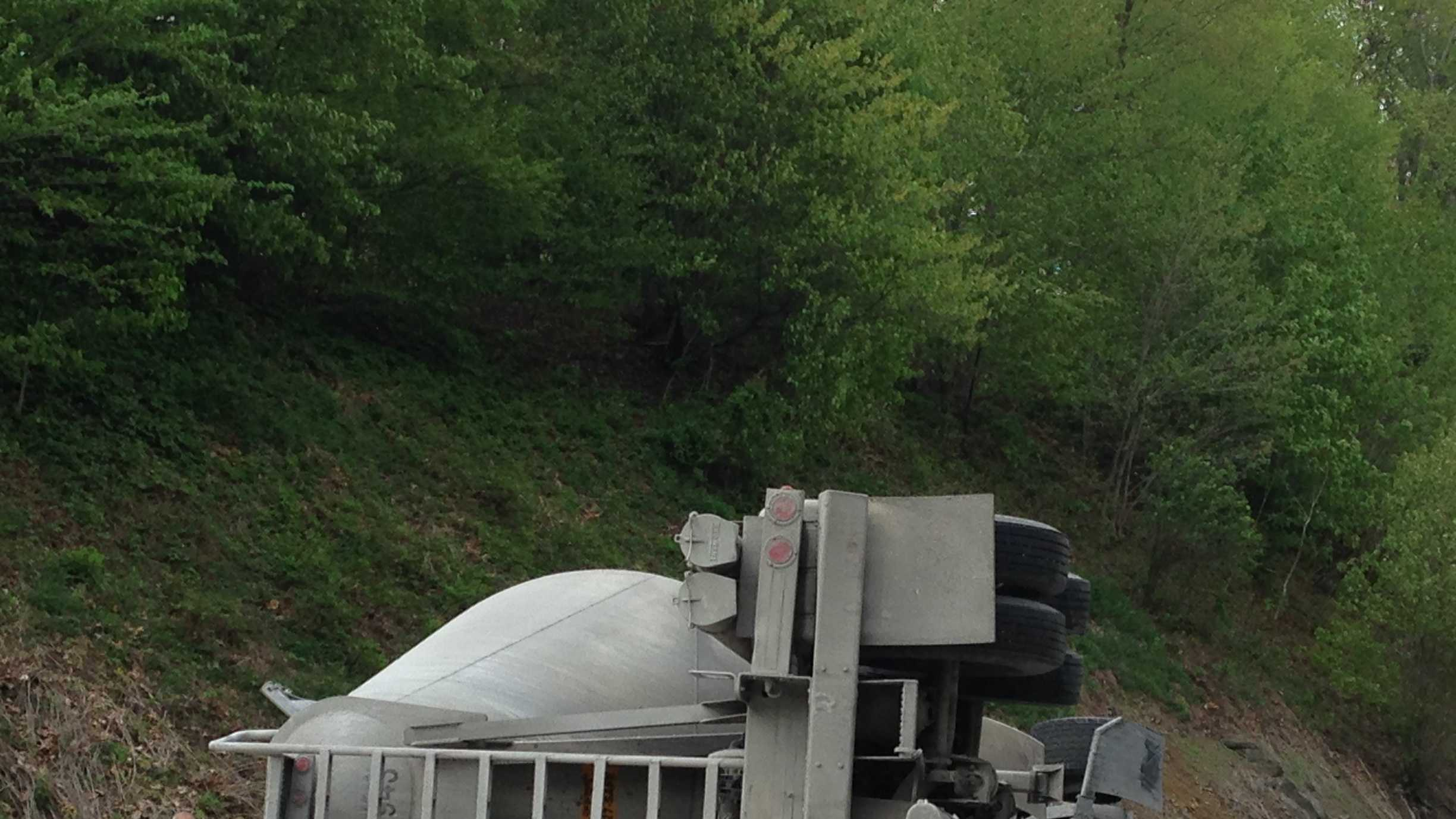 Southbound Interstate 81 is closed to traffic in northern Lebanon County due to a crash at around 1:16 p.m.