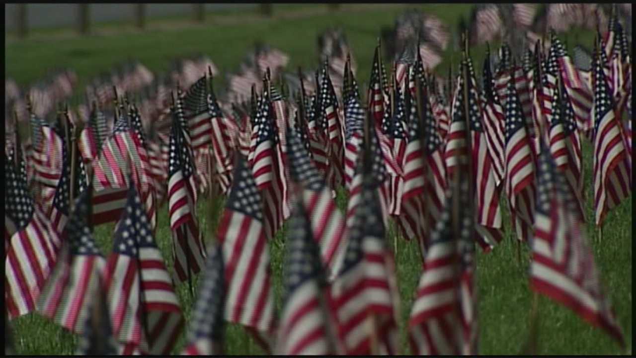 Memorial Day Flags 5.23.14