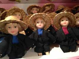 Tourists come from all over to visit Lancaster County's local attractions and learn about Amish life. Click through to take a look at some of the souvenirs that many visitors take back home with them.
