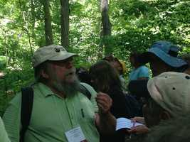 The group was led by botany and native plant expert Tim Draude of the Muhlenberg Botanical Society. Draude specializes in identification of southeastern Pennsylvania plants, specifically flora of the lower Susquehanna River region.