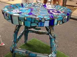 A table by Celeste Kelly.
