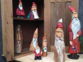 St. Nicholas figures by M.D. Bair.