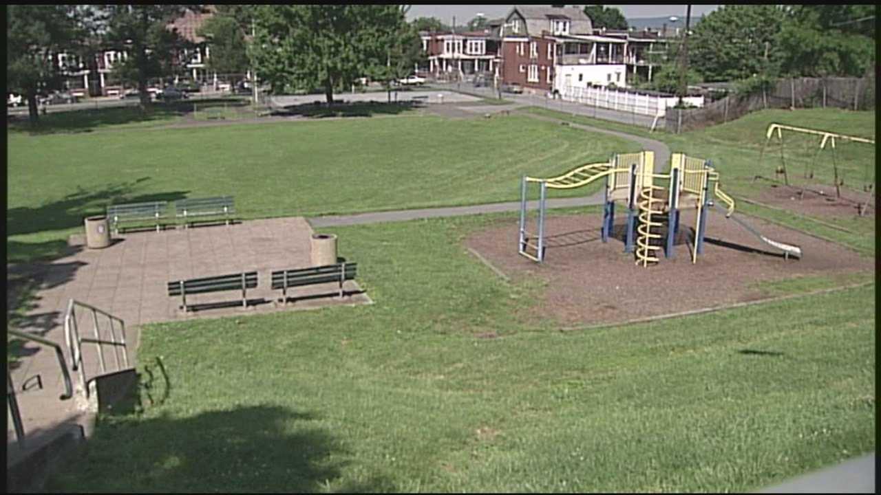 News 8 Today Neighborhood playground plagued by broken glass, needles, graffiti