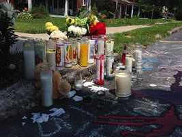 Jonathan Santiago, 26, was fatally shot on Sunday night.