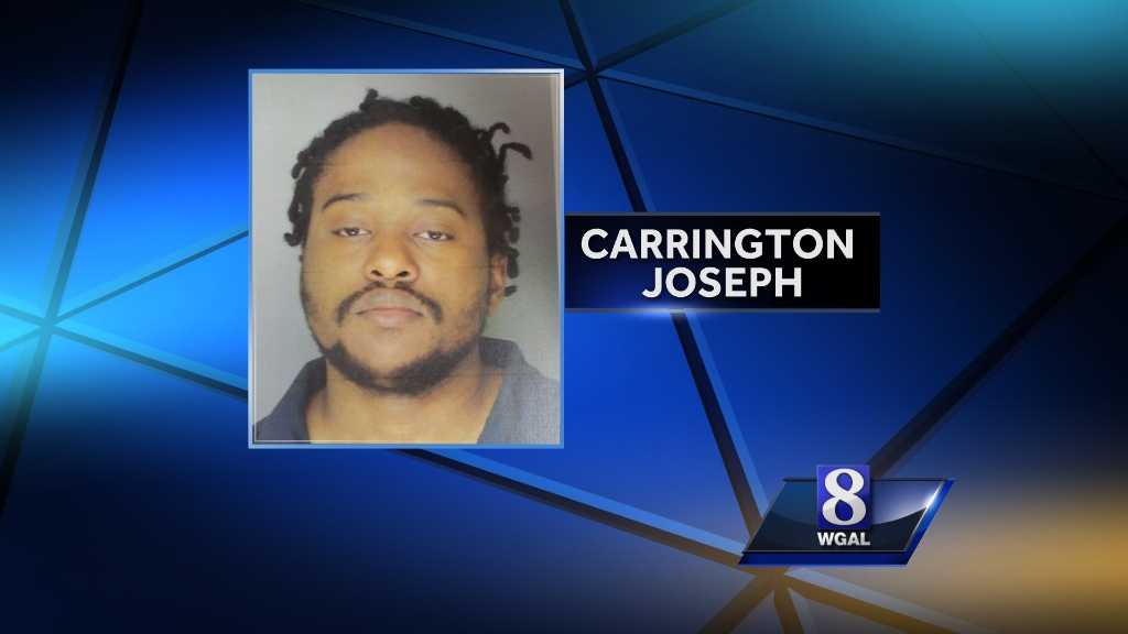 Carrington Joseph is accused of stabbing his wife to death.