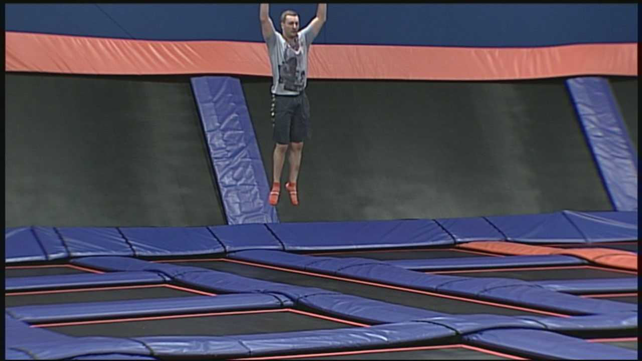 Sky Zone provides fun for all ages