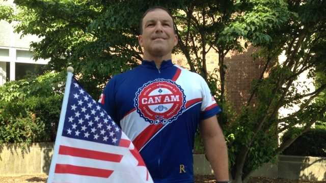 A group of injured military veterans are traveling through the Susquehanna Valley as part of the 'CanAm Veterans Challenge.'