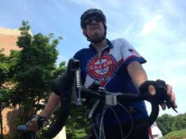 The ride is 766 miles and riders do as many as 85 miles a day.