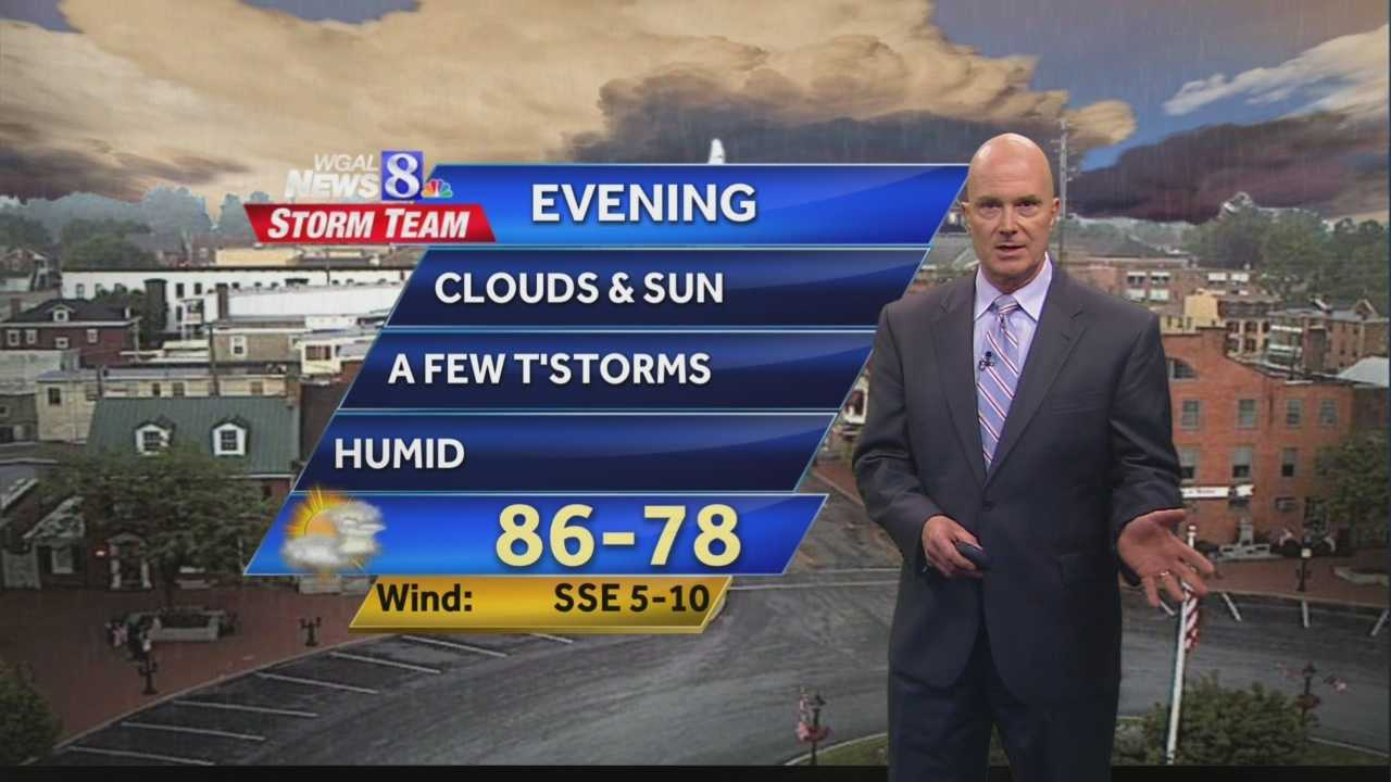 News 8 at 5 Wx 7.1.14