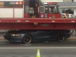 The accident happened near Arsenal Road and Toronita Street near Round the Clock Diner in Manchester Township.