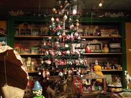 The National Christmas Center collection features items from throughout the history of Christmas.