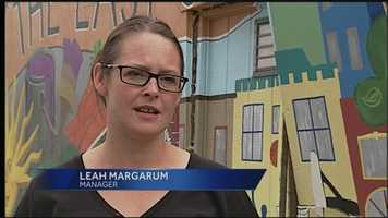 The manager of the restaurant, Leah Margarum, talked to WGAL about the frightening crash.