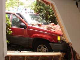 On Tuesday morning, a Jeep crashed into a Lemoyne home. On Wednesday morning another car crashed into another home