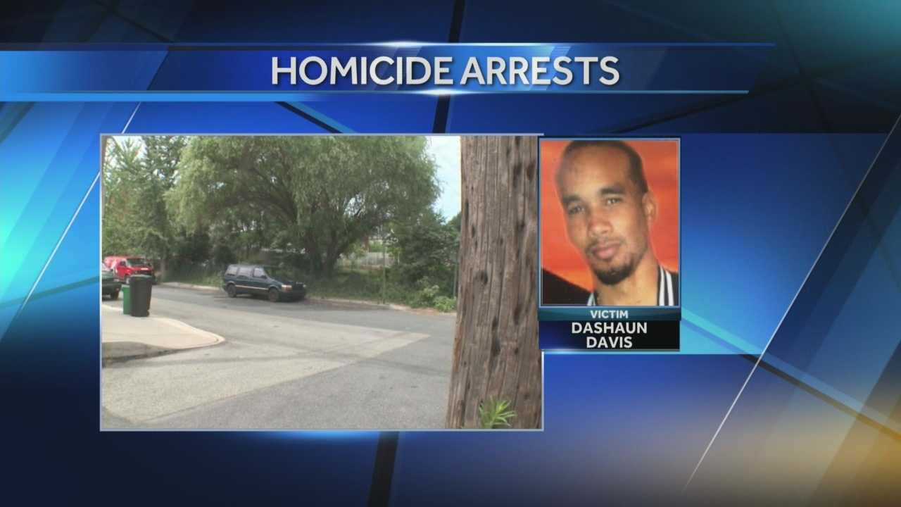 Dashaun Davis was shot to death as he sat in his car on Union Street.