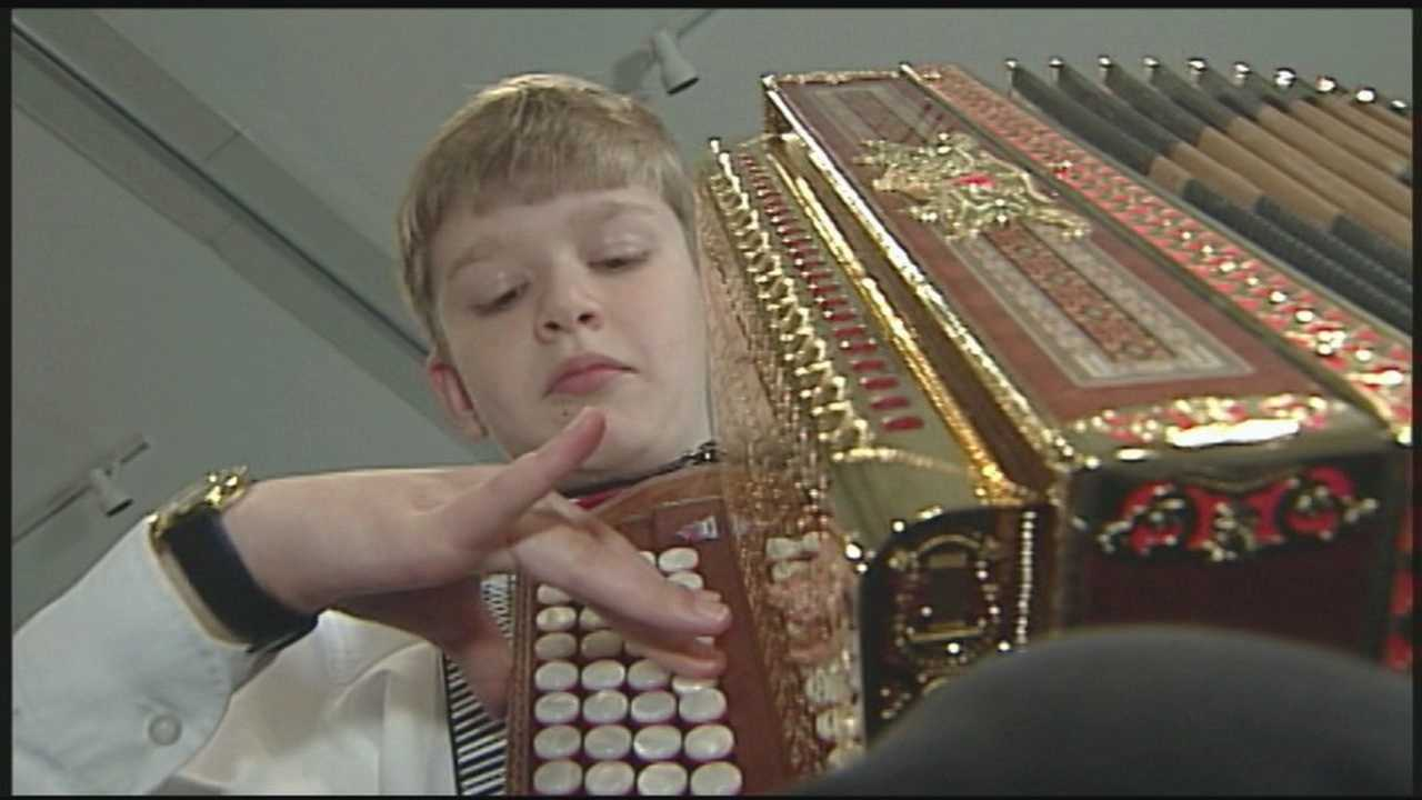 News 8 Today 8.7.14 Meet the 11-year-old polka prodigy