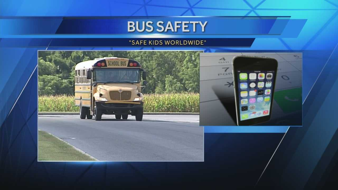 News 8 Today 8.25.14 school bus safety