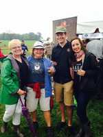 """Friends Erin Jarvis, Justin Flass, Denise Mott and Deb Small say they love the combination of history and beer. """"This is a great event - it brings a different kind of draw to Gettysburg,"""" said Jarvis. """"Beer aficionados and a sophisticated history crowd are all here enjoying beer together."""""""