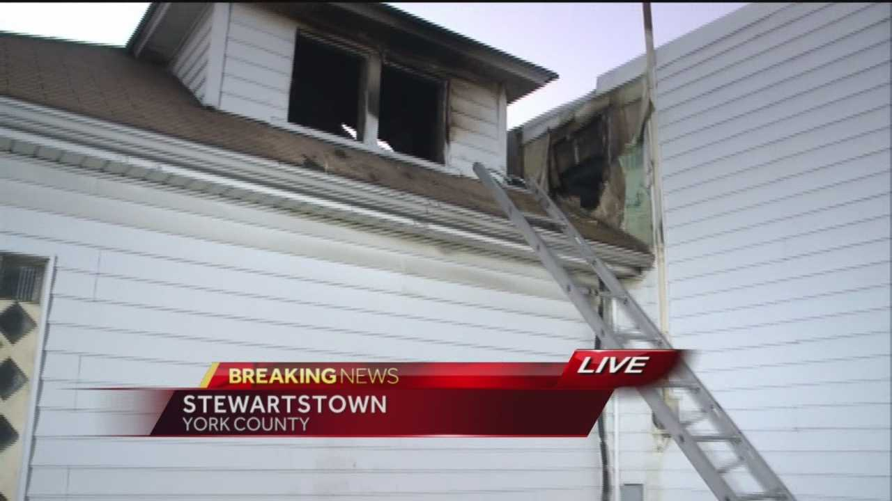 News 8 Today 9.2.14 stewartstown fire
