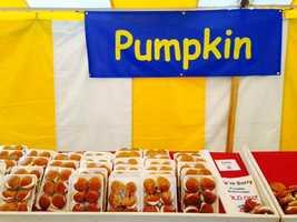 Pumpkin whoopie pies were a crowd favorite.