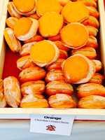 Pictured: Orange Chocolate Cream Cheese