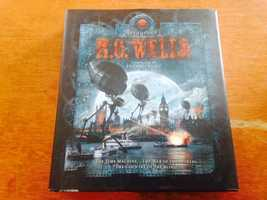 H.G. Wells is a popular Steampunk author.