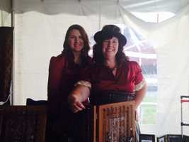 Nancy Bradley of Lancaster designs Steampunk jewelry and accessories.