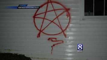 Police are looking for whoever vandalized a church in East Manchester Township, York County.