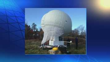 Week of October 27, 2014: State police opt to use a surveillance balloon to search for Frein.