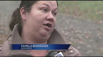 """""""I didn't see the kids at all. I seen them in the windows a couple of times but other than that I haven't seen them outside or anything,"""" said neighbor Pamela Bensinger."""