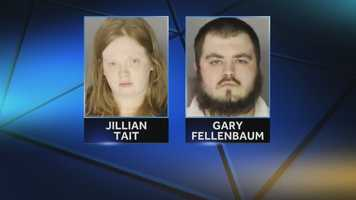 Tait and Fellenbaum are being held without bail. They are also charged with aggravated assault in the beating of Scotty's older brother. That child and anotherare being cared for by county services.