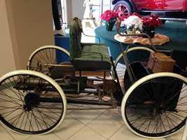 1896 Ford Quadricycle