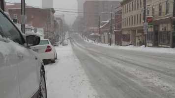 Downtown Lancaster, Thursday morning.