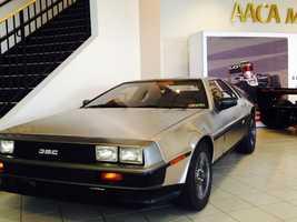 Pictured: 1981 DeLorean DMC12