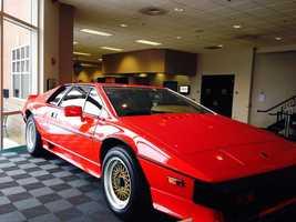Pictured: 1987 Lotus Espirt Turbo Type 82