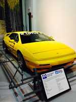 Pictured: Lotus pace car