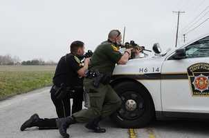 SWAT teams and other police agencies were called to the scene.