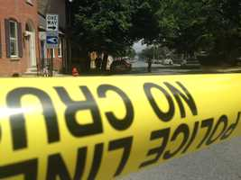 A police officer was shot in Lancaster City this afternoon and a suspect was killed.