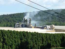 A 3-alarm fire broke out at Weaber's Saw Mill in South Annville Township, Lebanon County, on Wednesday morning.