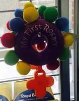 """Baby """"rosary"""": $20"""