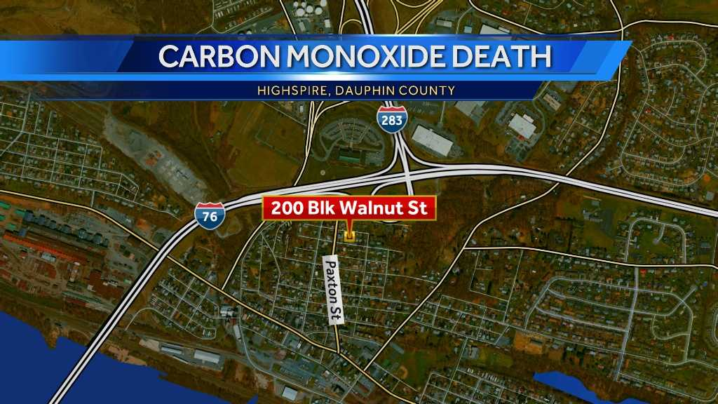 Carbon monoxide poisoning kills Dauphin County man