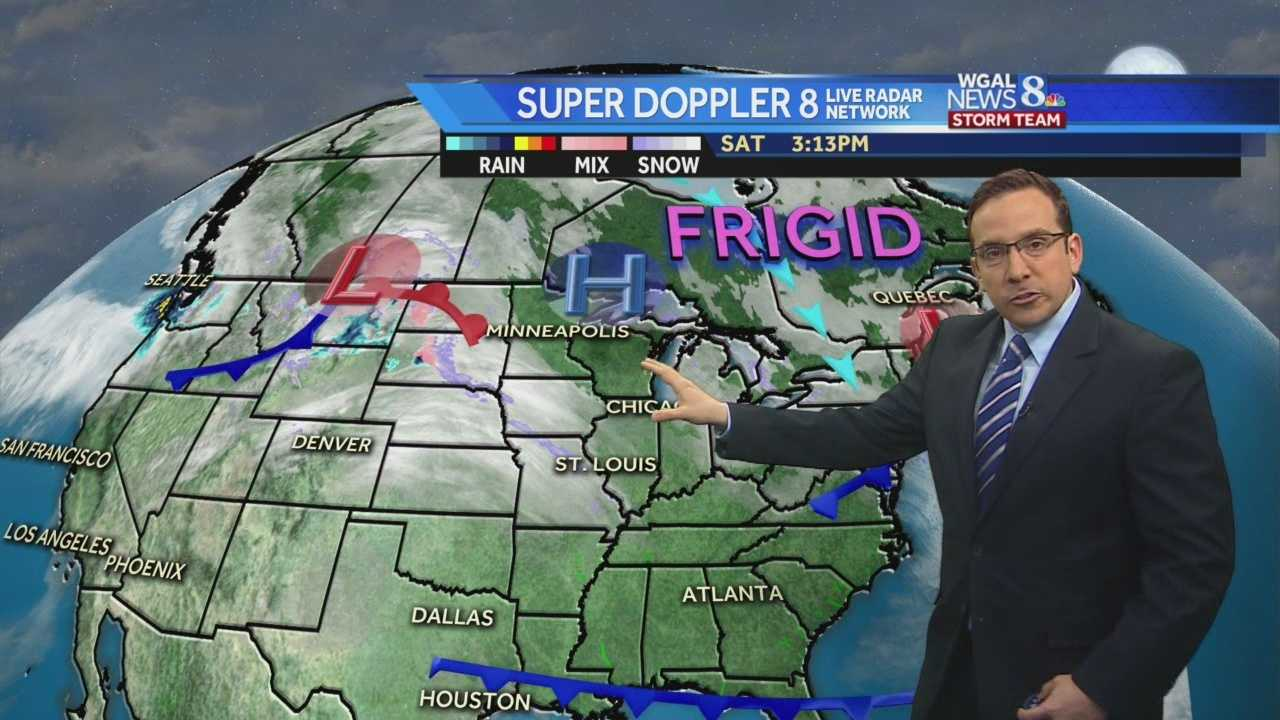 Dangerously Cold Wind Chills Tonight, Snow Returns Monday