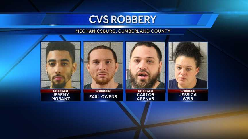 CVS robbery suspects